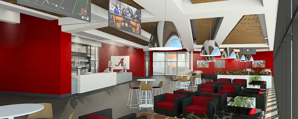 Rendering of the Champions Club