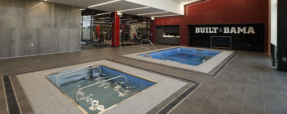 Sports Science Center Hydrotherapy Room